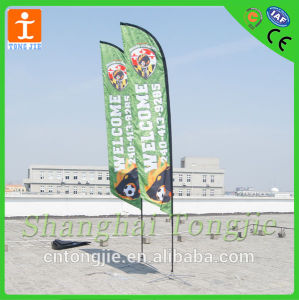 Feather Flag Flying Banner for Advertising (TJ-005) pictures & photos