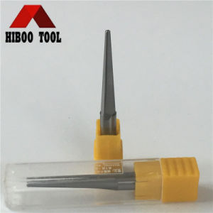 HRC45 Economic Carbide Straight Flute Taper End Metal Cutting Tool pictures & photos