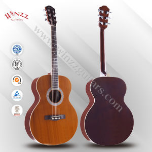 "[Winzz] 40"" OEM Araucaria Plywood Cutaway Acoustic Guitar (AF148) pictures & photos"