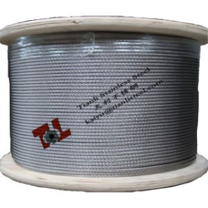 304 7X19 8mm Stainless Steel Wire Rope pictures & photos