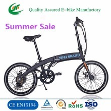 36V Lithoum Batetry Powered Lady Folding Electric Bike pictures & photos