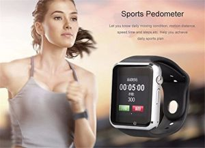 A1 Bluetooth Smart Watch with SIM Phone Call, Anti-Lost, Activity Tracking, Sleep Monitoring, Take Selfie for iPhone 6 6s Plus Samsung S6 Note 5 HTC LG pictures & photos