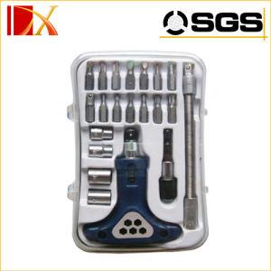 21PCS Ratchet Screwdriver Socket Set