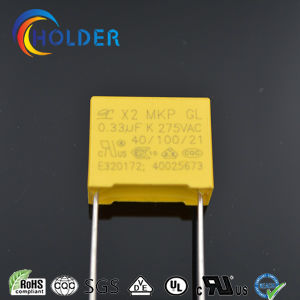Box Safety Capacitor (X2 334K/275V) MKP pictures & photos