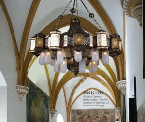 Moroccan Brass Finish Big Project Chandelier Lighting (KAM0010-2500) pictures & photos