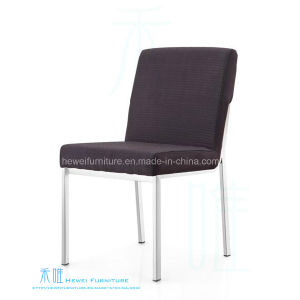 Modern Fabric Cushion Stainless Steel Hotel Chair (HW-1123C)