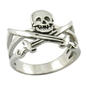 Stainless Steel Ring Fashion Jewelry Skull Ring Pirate Ring pictures & photos