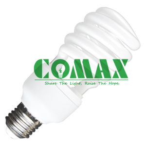 Half Spiral CFL Lighting T3 15W Energy Saving Light with Ce pictures & photos