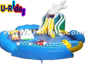 Shark Inflatable Water Park moving inflatable water park pictures & photos