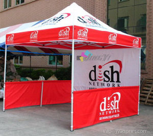 Free Shipping 3X3M(10X10FT) Advertising Tent (frame/roof/a full wall/2 half wall with pole) pictures & photos