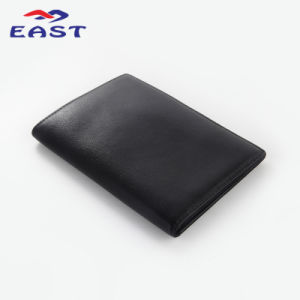 Simple PU Leather Business Card Package with Custom Logo pictures & photos
