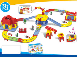 Kids Funny Battery Operated Track Train Set Toy (H1436092) pictures & photos