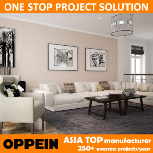 Oppein Modern Free House Design Living Room Furniture for Villa (OP15-LR02) pictures & photos