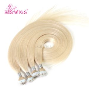 New Arrival M Shape Tape Hair Brazilian Remy Human Hair pictures & photos