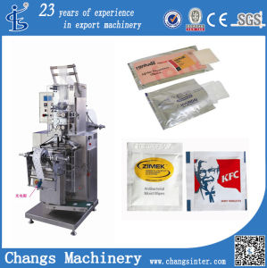 Zjb Vertical Sachet Wet Naps Tissue Toilet Paper Packaging Machine Manufacturers pictures & photos