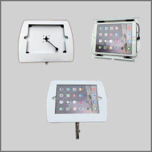 Metallic iPad Display Stand with Lock Enclosure pictures & photos