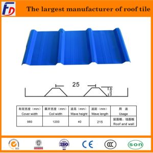 960 Mm Steel Roof Tilel for Wall & Roof