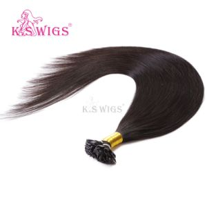 New Arrival Malaysian Hair Flat Tip Keratin Hair Extension pictures & photos
