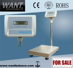 1g High Precision Big Platfrom Weighing Scale pictures & photos