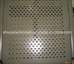Stainless Steel Punching Sheet for Filters Slotted Screen Perforated Sheet Metal pictures & photos