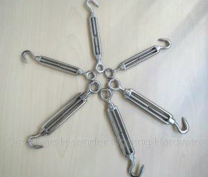 Galvanized Commercial Type Turnbuckle with Eye and Hook pictures & photos