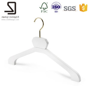 White Wooden Hanger for Clothes pictures & photos