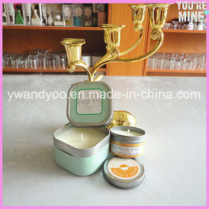 Popular Scented Soy Tin Candle pictures & photos