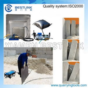 Iron Water Bag for Marble Stone Block Push Down Job pictures & photos