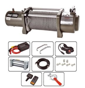 Electric Winch 12V /24V/4X4 13000 Lb Winch pictures & photos