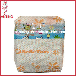 Disposable Soft Surface Baby Diaper with PE Film and PP Tape for All Age Babies pictures & photos