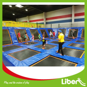Huge Indoor Trampolines with Ball Pool, Foam Pit pictures & photos