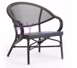 New Design Plush Non-Wood Aluminum Outdoor PE Rattan Arm Chair pictures & photos