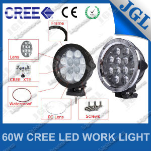 LED Car Light 60W Machinery Working Lights Waterproof IP67