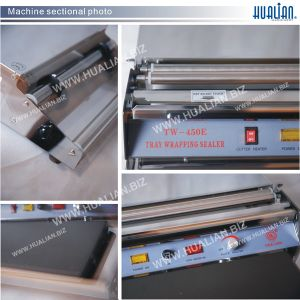 Hualian 2017 Automatic Cling Film Wrapping Machine (TW-450F) pictures & photos