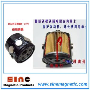 Auto Engine Oil Filter Strong Permanent Magnet pictures & photos