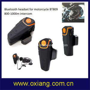 1000m Wireless Stereo Intercom Motorcycle Helmet Bluetooth Headset pictures & photos