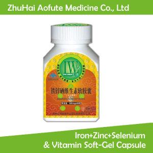 Natural Iron+Zinc+Selenium & Vitamin Soft-Gel Capsule pictures & photos
