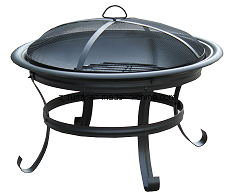 Round Camping Firepit and BBQ Grill pictures & photos