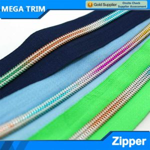 5# Colorfull Nylon Teeth Zipper pictures & photos