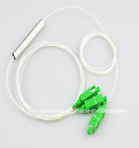 1X2 SC/APC Mini Optical Fiber Coupler