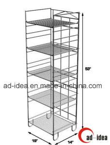Five Layers Metal Display Stand/ Practical Display Rack pictures & photos