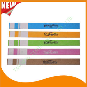 Entertainment Water-Proof Tyvek Wristbands (E3000-3-10) pictures & photos