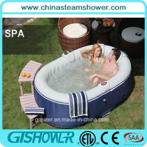 Cheap 2 Person Indoor Inflatable Hot Tub (pH050012 Blue) pictures & photos