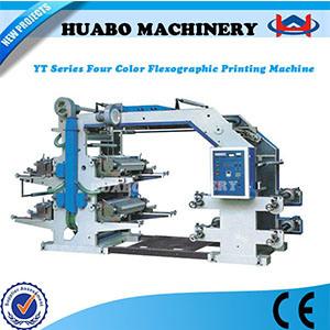 Flexography 3 Color 4 Color Non-Woven Fabric Printing Machine pictures & photos