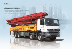 XCMG Official Manufacture Hb37b Mobile Concrete Mixer with Pump pictures & photos