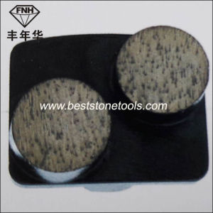CD-12 Redi Lock Concrete Floor Metal Bond Diamond Grinding Segment