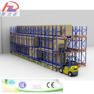 Best Selling ISO Approved Warehouse Storage Shuttle Racking pictures & photos