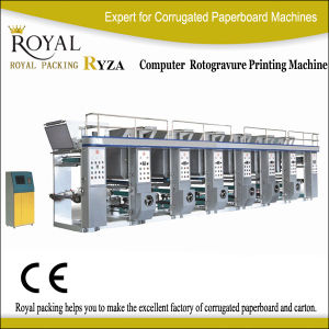 Ryza Moderate Speed Computer Middle Rail Gravure Machine pictures & photos