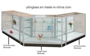 Tempered Store Shelves Glass with Well Edge Polished pictures & photos