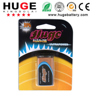 Super High Quality 9V Alkaline Battery (6LR61) pictures & photos
